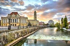 Oradea stad, Rumänien Royaltyfri Fotografi