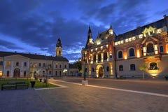 Oradea stad, Rumänien Arkivfoton
