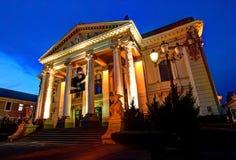 Oradea Theater. State theater of Oradea, Romania Royalty Free Stock Photos