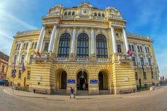 Oradea town Hall building Royalty Free Stock Photo