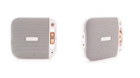 Orador branco de Bluetooth Imagem de Stock Royalty Free