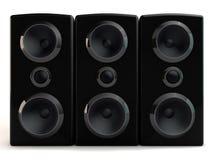 orador 3d Imagem de Stock Royalty Free