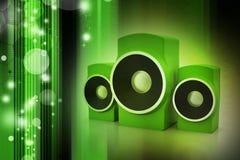 Orador da música Foto de Stock