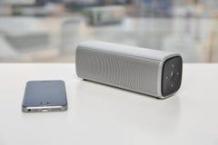 Orador de Bluetooth Imagens de Stock Royalty Free