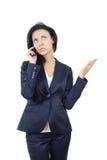 Orador do telefone de pilha fotografia de stock