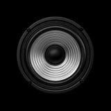 Orador frontal do áudio da imagem fotos de stock