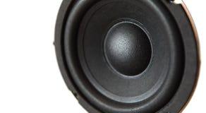 Orador isolado no branco Imagem de Stock