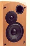 Orador isolado no fundo branco Fotografia de Stock Royalty Free
