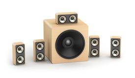 Oradores ajustados Imagem de Stock