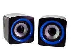 Oradores do computador do PC Fotos de Stock Royalty Free