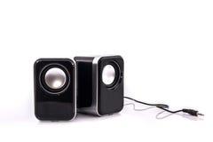 Oradores do computador pequeno Imagens de Stock