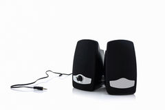 Oradores do computador pequeno Foto de Stock Royalty Free