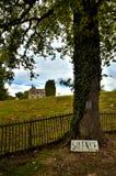 Oradour-sr-Glane destroied av den tyska nazien och är nu en permanent minnesmärke Royaltyfri Bild