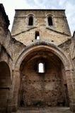Oradour-sr-Glane destroied av den tyska nazien och är nu en permanent minnesmärke Arkivbild