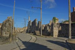Oradour sur Glane, France Stock Photos