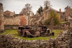 Oradour-sur-Glane, Francja obraz stock