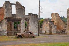 Oradour-sur-Glane war memorial Stock Photo