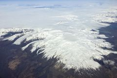 Oraefajokull wulkan Iceland zdjęcie stock