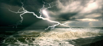 Orage Photos stock