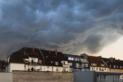 Orage - Bielefeld - Allemagne 2014 Photographie stock