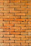 Orage brick wall Royalty Free Stock Images