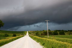 Orage de l'Iowa Photos stock