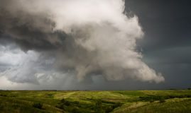Orage du Dakota du Sud photographie stock