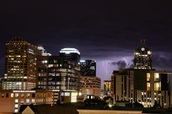 Orage en Austin Texas Images stock