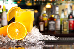 Orage juice Stock Photo