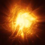Oragne osocza energii tło Zdjęcie Royalty Free