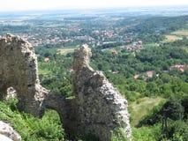 Orahovica-Stadt Stockfotos