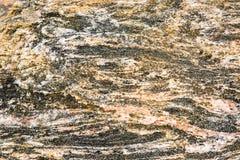 Orakad konglomerat av olika mineraler Royaltyfria Bilder