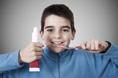 Oral health in children Royalty Free Stock Photos