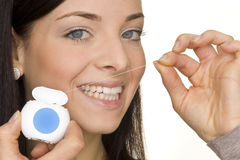Oral hygiene Stock Image