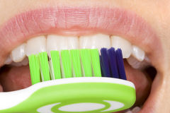 Oral hygiene Stock Photography