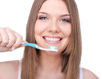 Oral hygiene, concept Royalty Free Stock Images