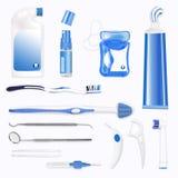 Oralna higiena Zdjęcia Royalty Free