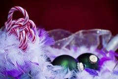 oraments тросточек конфеты Стоковые Фото