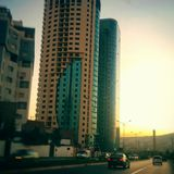 Oran-Gebäude lizenzfreie stockfotografie
