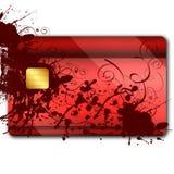 oranaments кредита карточки цветастые Стоковая Фотография