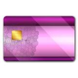 oranaments кредита карточки цветастые Стоковое Изображение