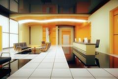Orane biznesu wnętrze Fotografia Royalty Free