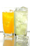 Orane and lime drink Stock Photo
