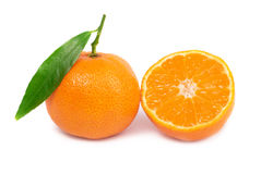Orane mandarins Stock Photos