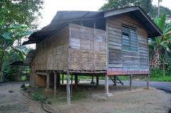 Orang Asli house Royalty Free Stock Photos