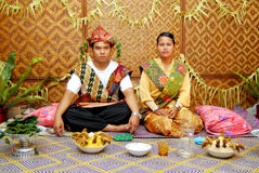 Orang Asli Wedding Royalty Free Stock Image