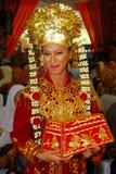 Orang Minangkabau. Minangkabau or Minang people are ethnic groups who speak and uphold Nusantara customs Minangkabau. Region adherents culture covers West Royalty Free Stock Image