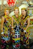 Orang Ulu fotografie stock libere da diritti