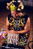 Orang Ulu Beadswork Stock Photography