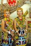 Orang Ulu Frau lizenzfreies stockbild